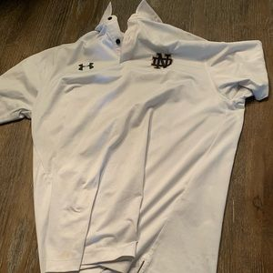 Lg under armor notre dame polo
